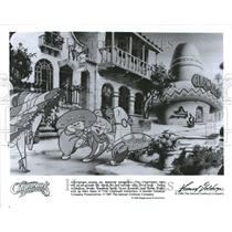 1987 Press Photo Chipmunks Adventure Animated Film - RRV73549