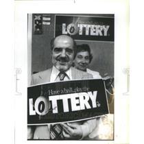 1983 Press Photo Ill State lottery prize winner Mario - RRU70223