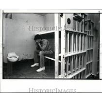 1987 Press Photo Parma City Jail - cvb11590