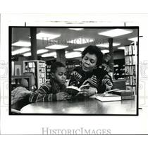 1988 Press Photo Martin Luther King Library. - cvb13007