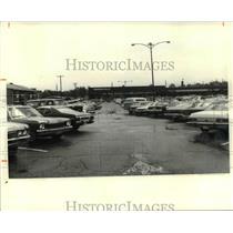 1980 Press Photo Parking lot at Chevy Blud - cvb24909