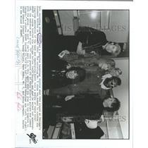 1983 Press Photo Rock Band Heart Wilson Mr T - RRX91745