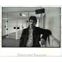 1987 Press Photo Joe Elam-Marion Correctional Institution - cvb25838