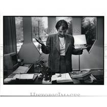 1991 Press Photo Oberlin Conservatory Director Karen Wolff - cvb29470