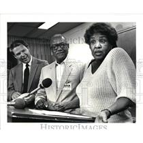 1986 Press Photo Gwendolyn and Thaddeus Sitgraves won $10 Million in Lotto Game