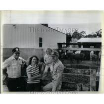 1984 Press Photo Don Stewart Dibble Bill Kendall County - RRX52819