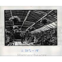 1977 Press Photo Rockefeller Park Greenhouse - cva65750