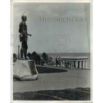 1980 Press Photo Plymouth Rock, Massachusetts - cvb22162