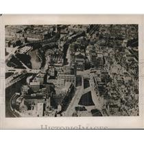 1939 Press Photo An air view of Amsterdam, industrial center of the Netherlands