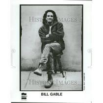 1989 Press Photo Bill Gable - RRV00755