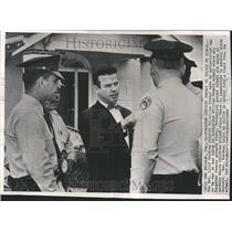 1960 Press Photo Rev Lloyd Foreman Integration Threat - RRV82003