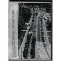 1967 Press Photo Louisiana Negro March Down Highway - RRX59129