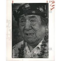 1984 Press Photo Zuni Indian Pueblo Native Americans - RRX88097