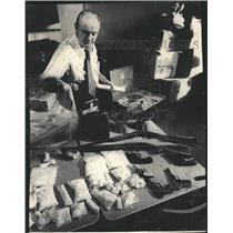 1973 Press Photo Lt. William Mahoney commander of narco - RRW49469