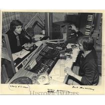 1984 Press Photo Chris O'Connor - WZUU Personalities - Buck McWilliams