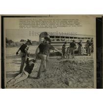 1976 Press Photo Seabrook Nuclear Plant Demonstrators - RRW92093