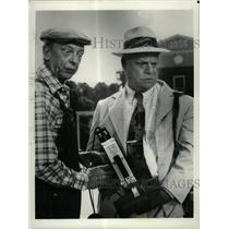 1986 Press Photo Jesse Donald Don Knotts Ralph Furley - RRX66271