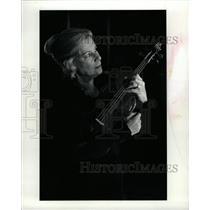1982 Press Photo Irene Abosch Denver Symphony Orchestra - RRW15303