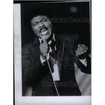 1981 Press Photo Little Richard Wayne Penniman Singer - RRX45277