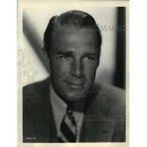 "1932 Press Photo Randolph Scott in Paramount's ""Hot Saturday"" - mjz04036"