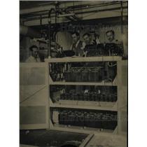 1934 Press Photo Associated Press Telephoto Batteries - RRX65019