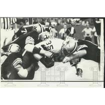 1973 Press Photo Dallas running back Calvin Hill in football action - nox14099