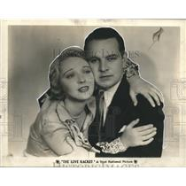 1929 Press Photo Dorothy Mackaill and Sidney Blackmer in The Love Racket.