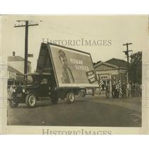 1933 Press Photo A massive 1933 Community Chest Human Service billboard