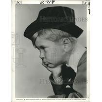 "1931 Press Photo Child Actor Jackie Cooper in ""Skippy"" - nox14510"