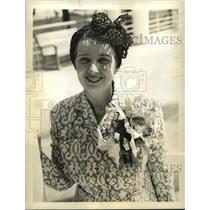 1938 Press Photo Marjorie Shuler reporter for Christian Science Monitor