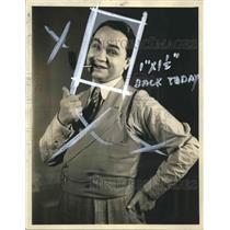 1931 Press Photo Edward G Robinson stars in The Idol as a gambler - sba19290