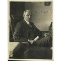 1918 Press Photo Ex New York Fire Commissioner Robert Adamson - ney30926