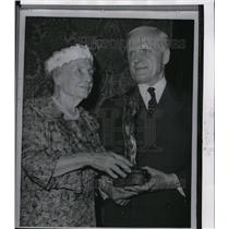 1960 Press Photo Helen Keller - spw06345