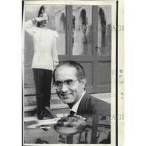 1970 Press Photo Premier Designate of Italy Emilio Colombo. - noa74420