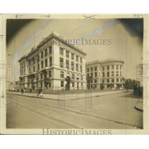 1909 Press Photo New Civil District Court Building, New Orleans - nox14022
