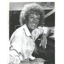 1981 Press Photo Margaret Marian McPartland OBE Jazz - RRV30475