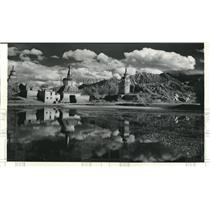 1936 Press Photo Tranquil water scene in Tibet - spb02885