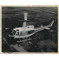 1970 Press Photo The Bell 205 A Helicopter Taxi Service in Houston. - hcx04784