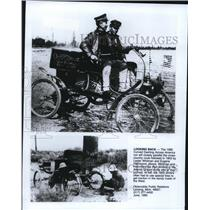 1903 Press Photo Antique Auto Race Across America To End At The Atlantic Ocean