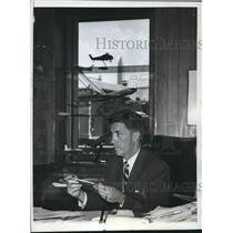 1961 Press Photo Federal Aviation Agency pilot Najeeb Halaby in Washington