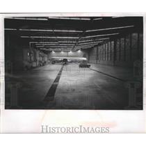 1963 Press Photo Northwest Airline hanger Minneapolis-St.Paul Airport
