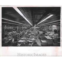 1963 Press Photo Northwest Airlines, engines to be overhauled in large shop