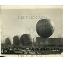 1926 Press Photo Goodyear IV Piloted by C.K. Wollam & W.W. Norton at Convention