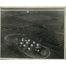 1927 Press Photo National Balloon Race Akron Ohio May 31st - ney30535