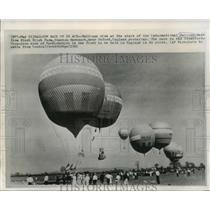 1965 Press Photo International Balloon Race in Stanton Harcourt, England