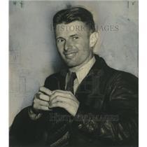 1938 Press Photo Pilot Douglas P. Corrigan flies all the way to Ireland