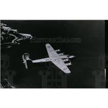 1940 Press Photo The U.S. Army's XB-24 long range, four engine bomber plane