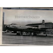 1948 Press Photo The latest six-jet AB-48 bomber of Air Force at Wright field