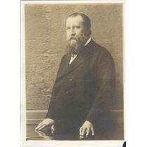 1918 Press Photo German Reichstag Member Kahl - ner11231