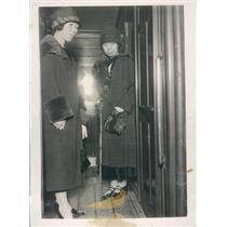 1927 Press Photo Stowaway Japan Princesses Kitashirakaswa & Higashikuni